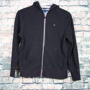 Tommy Hilfiger Full Zip Sweater Hoodie Medium